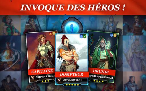 Code Triche StormBorn: Guerre des légendes apk mod screenshots 2