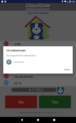CloudGate Authenticator 1.3.0 Windows u7528 10