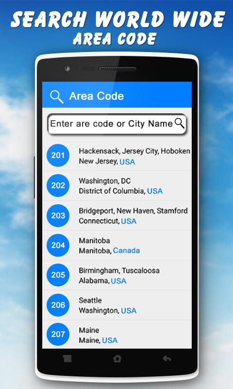 Mobile Caller Location Tracker Android Apps On Google Play - 205 area code usa