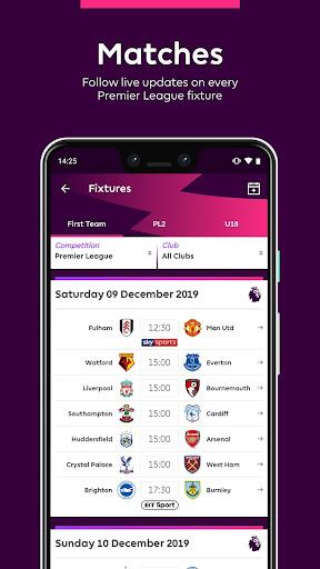 Premier League - Official App 2.2.6.1497 screenshots 5