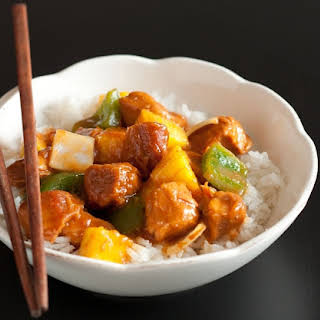 Slow Cooker Sweet and Sour Chicken.