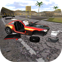 Raging Car Driving 3D icon