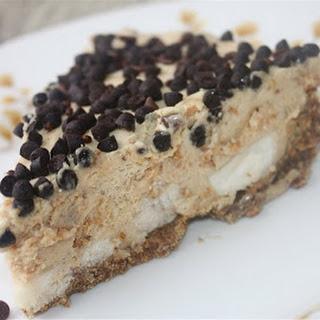 Frozen Peanut Butter-Banana Cream Pie.