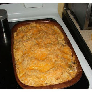 Chicken Casserole Enchilada.