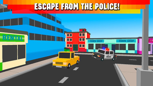 Cube Race: Cops vs Robbers 3D