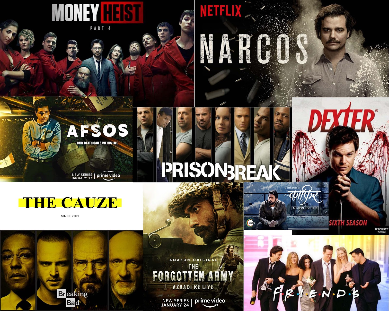 TV Series worth watching in 2020!