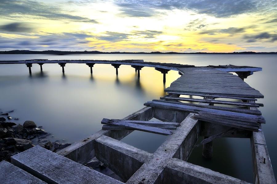 Broken Bridge by Irwansyah St - Buildings & Architecture Bridges & Suspended Structures ( landmark, travel )