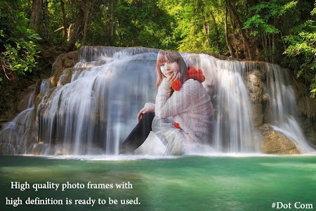 Waterfall Photo Frame screenshot 2