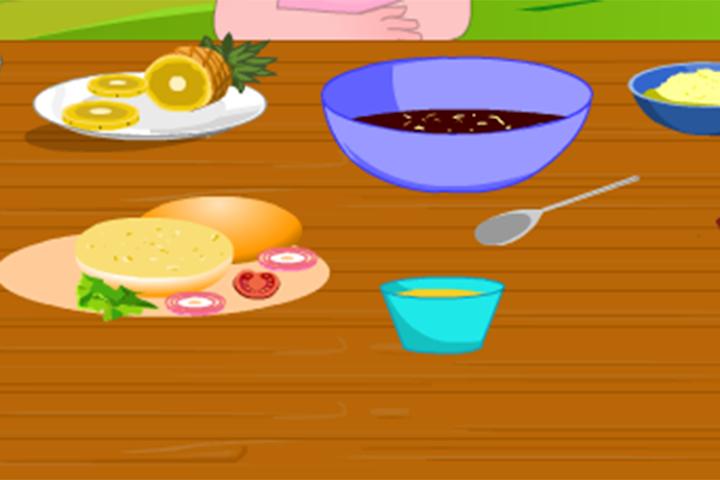 android Girls Cooking-Burger Screenshot 3