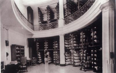 馮平山圖書館底層。(圖片來源:RTHK)