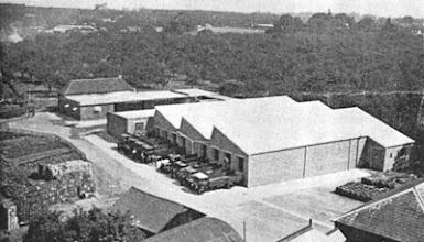 Photo: New Bottled Beer Store - Phoenix Brewery, Wateringbury, 1936