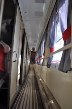 Photo: Train jumping !