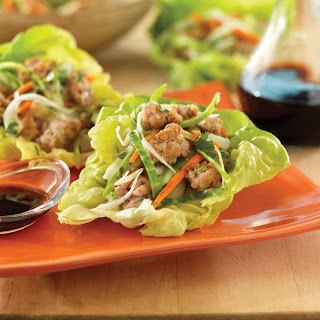 Ginger Pork Bibb Cups Recipe