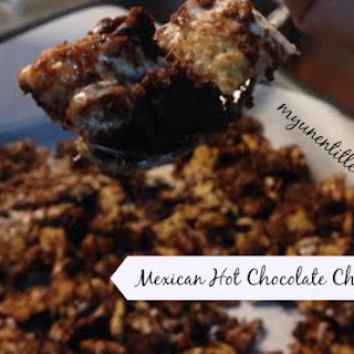 Mexican Hot Chocolate Chex Mix Party Mix.