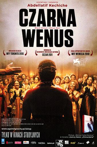 Przód ulotki filmu 'Czarna Wenus'