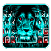 Wild Neon Lion Keyboard Theme Android APK Download Free By New Keyboard Theme For Android 2019