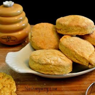 Quick Pumpkin Biscuits.