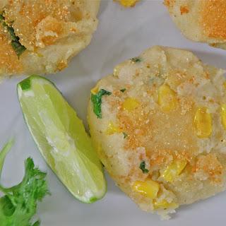 Lentil & Corn Fritters (plus Lentils & Couscous)