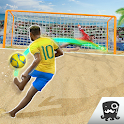 Free Kick Beach Football Games 2018 icon
