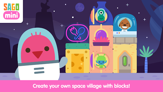 Sago Mini Space Blocks 8