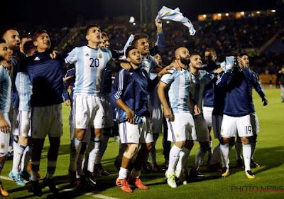 ? En célébrant leur qualification, les Argentins taclent les journalistes (vidéo)