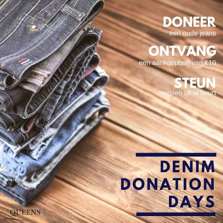 DENIM DONATION DAYS : 5 - 30 NOV. 2018