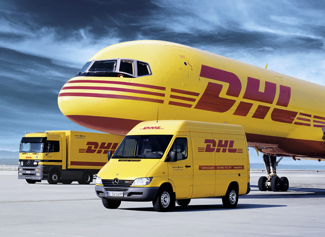 DHL là tên hãng vận chuyển cực kỳ nổi tiếng