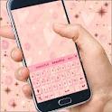少女的粉红色的键盘 icon