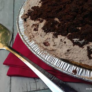 Brownie Pudding Pie.