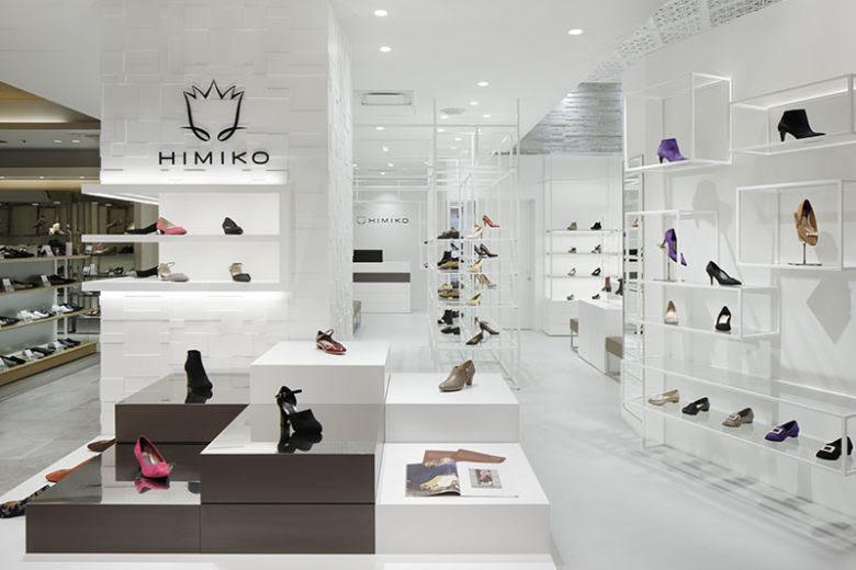 Thiết kế shop thời trang nữ - thiết kế shop giày dép giá rẻ