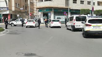 La Policía Local de El Ejido, en una imagen de archivo.