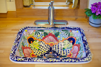Photo: Sink purchased in a market in Mexico - $30.