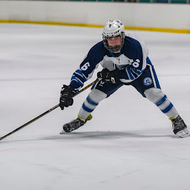 by Todd Coleman - Sports & Fitness Ice hockey ( hockey, forward, winter )