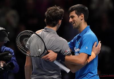Dominic Thiem klopte Novak Djokovic op de ATP Masters