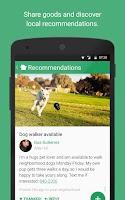 Screenshot of Nextdoor