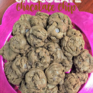 Chocolaty Chewy Chocolate Chip Cookies.