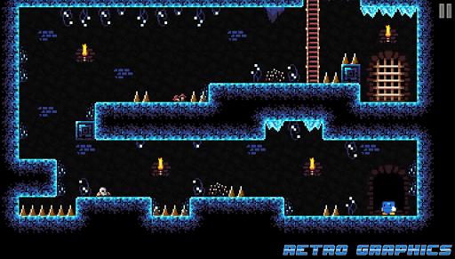 Code Triche Blu Escape - Hardcore Platformer (Free) APK MOD screenshots 1