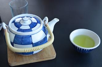 Photo: echte groene thee