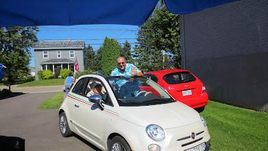 Photo: La Triumph est en attente de réparation, la Fiat fera l'affaire aujourd'hui !