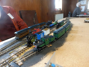 Photo: 021 The modern generation of Minitrains locomotives and stock, with their superb running qualities are ideal for an HOe/HOn30 automatic control demonstration .