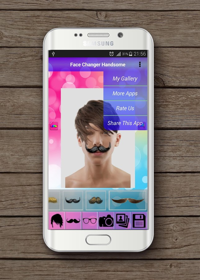 Face Changer Handsome- screenshot