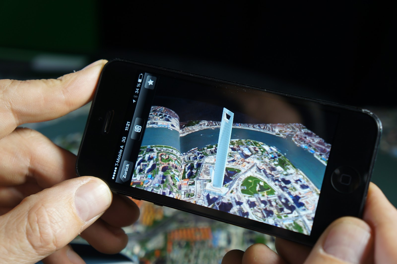 augmented reality for hotels in the form of AR maps