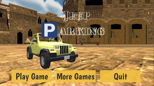 4x4 Arabic Jeep Parking 3D