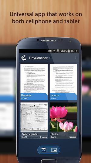 14 Tiny Scanner - PDF Scanner App App screenshot