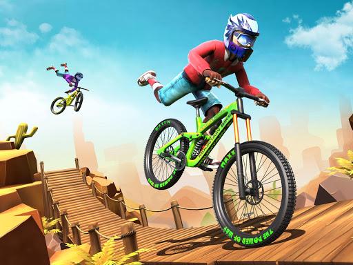 Dirt Bike Racing Stunts screenshot 6
