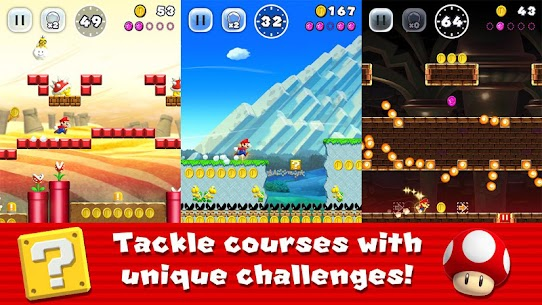 Super Mario Run 3.0.17 APK with Mod + Data 1