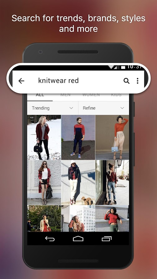 WEAR - Fashion Lookbook- screenshot