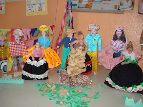 Photo: Arraiá da Escola Classe 04 no Projeto Mesinhas