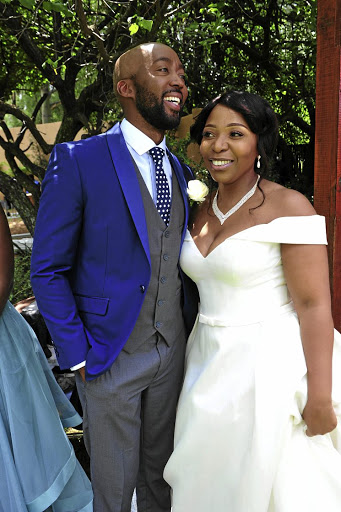 Dingaan Mokebe and Vathiswa Ndara's wedding ceremony shocked viewers./ Veli Nhlapo