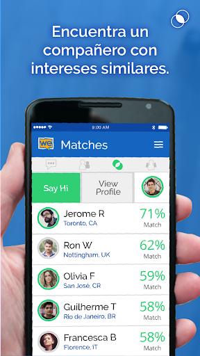 WeSpeke Chat (gratis) screenshot